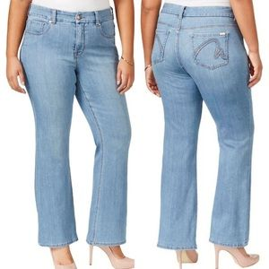 Melissa McCarthy Seven7 Flare Jeans High Rise